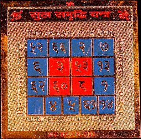 Шри Сукх Самриддхи Янтра (процветание и счастье, душевное умиротворение, повышает социальный статус)