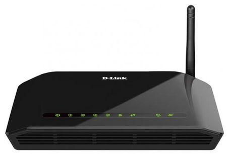 Фото Беcпроводной маршрутизатор ADSL D-LINK DSL-2640U/RA/U1A/U2A Annex A ADSL/ADSL2/ADSL2+ 1xADSL 4xLAN 802.11n. Купить в РФ