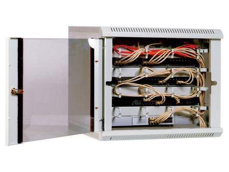 Фото Шкаф телекоммуникационный настенный 9U ЦМО ШРН-9.300 600x300mm. Купить в РФ
