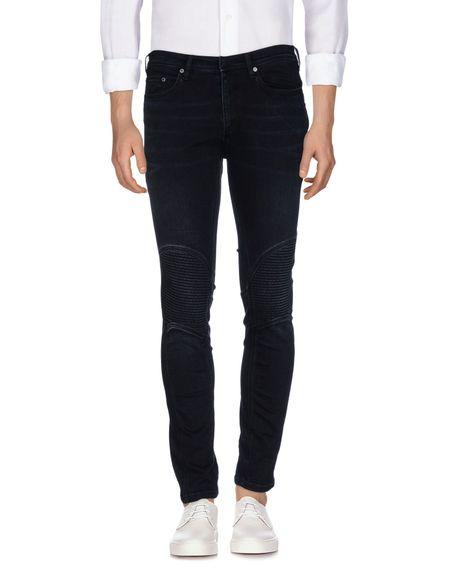 Фото NEIL BARRETT Джинсовые брюки. Купить с доставкой