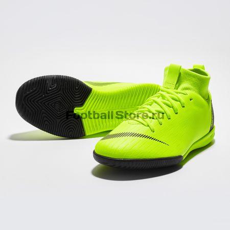 112a4376 Футзалки детские Nike Superfly 6 Academy IC AH7343-701