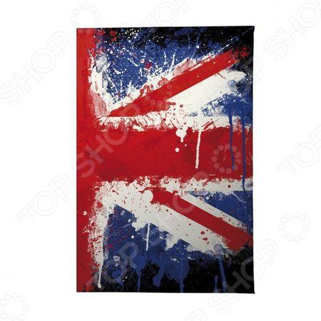 Обложка для автодокументов Mitya Veselkov «Британский флаг в краске» «Британский флаг в краске»