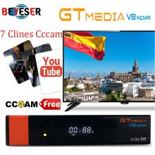Gtmedia V8 Nova Built wifi DVB-S2 Freesat V8 Super Satellite TV Receiver gt  media v8 nova receptor with 1 year europe cccam