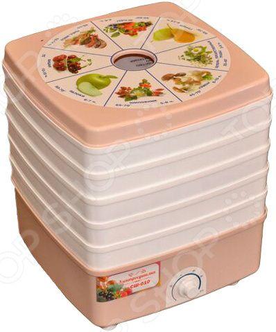 Сушилка для овощей и фруктов Помощница Люкс СШ-010