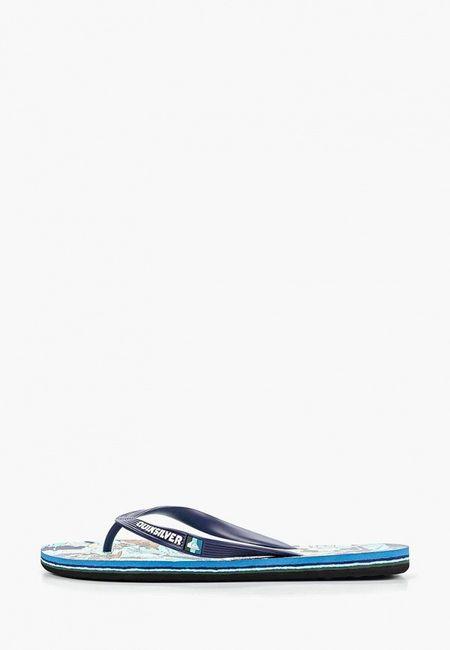 d1ed26ee Сланцы Quiksilver. Цвет: мультиколор. Материал: резина.Сезон: Весна-лето  2019. С бесплатной доставкой и примеркой на Lamoda.