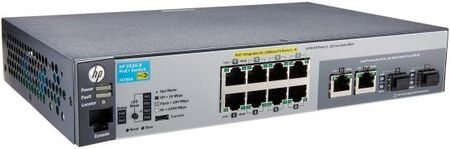 Фото Коммутатор HP 2530-8-PoE+ управляемый 8 портов 10/100/1000Mbps 2xSFP PoE J9780A. Купить в РФ