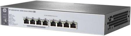 Фото Коммутатор HP 1820-8G-PoE+ управляемый 8 портов 10/100/1000Mbps J9982A. Купить в РФ