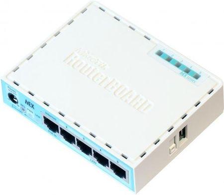 Фото Маршрутизатор Mikrotik hEX 5x10/100/1000 Mbps USB RB750Gr3. Купить в РФ