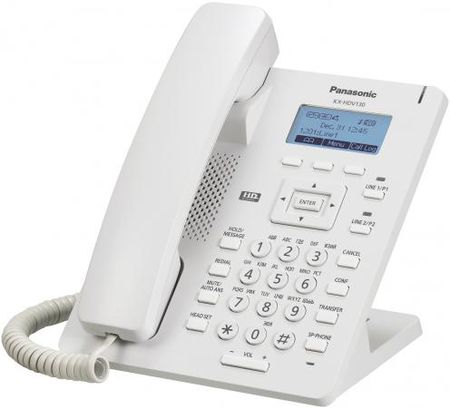 Телефон IP Panasonic KX-HDV100RU белый