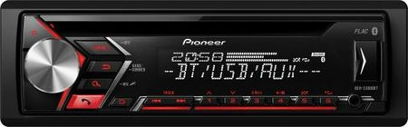 Автомагнитола Pioneer DEH-S3000BT USB MP3 CD FM RDS 1DIN 4x50Вт черный