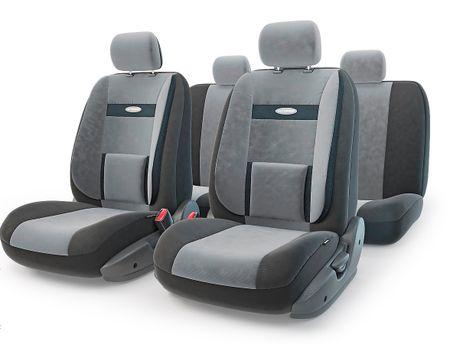 Чехол на сиденье Autoprofi Com-1105 bk/d.gy (М)