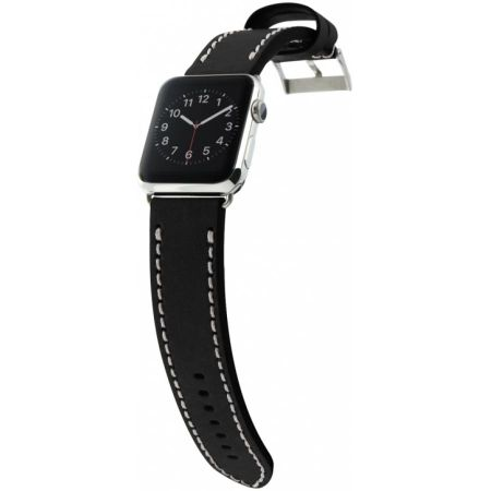 Ремешок Cozistyle Leather Band for Apple Watch 42mm (CLB010) Black