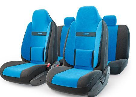 Чехол на сиденье Autoprofi Com-1105h bk/bl (М)