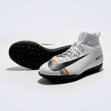 601f47d1 Шиповки детские Nike Superfly 6 Club CR7 TF AJ3088-109