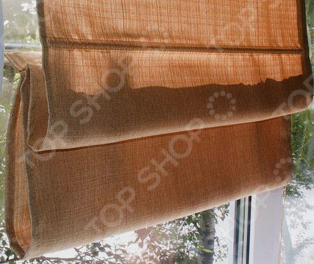 Шторы римские Эскар тканевые тканевые