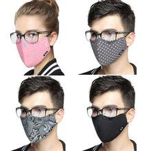 Korean Cotton Mouth Face Mask KN95 Anti-Dust Mask Respirator with Activated  Carbon Filter Anti Dust Black Kpop Mask On The Mouth