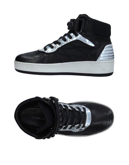 Фото CRIME London Высокие кеды и кроссовки. Купить с доставкой