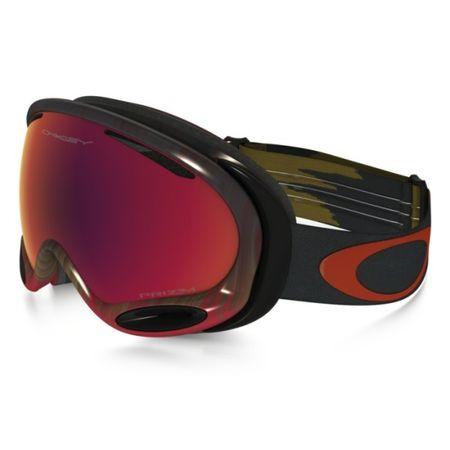 Горнолыжная маска Oakley A Frame 2.0 темно-красный