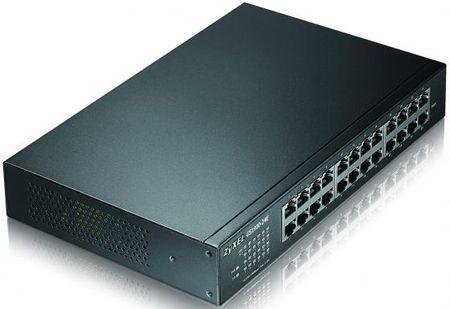 Фото Коммутатор Zyxel GS1900-24E управляемый 24 порта 10/100/1000Mbps. Купить в РФ