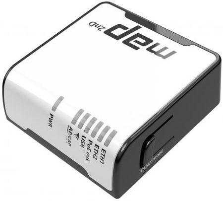 Фото Беспроводной маршрутизатор MikroTik RBmAP2nD 802.11n 300Mbps 2.4 ГГц -1xLAN PoE белый. Купить в РФ
