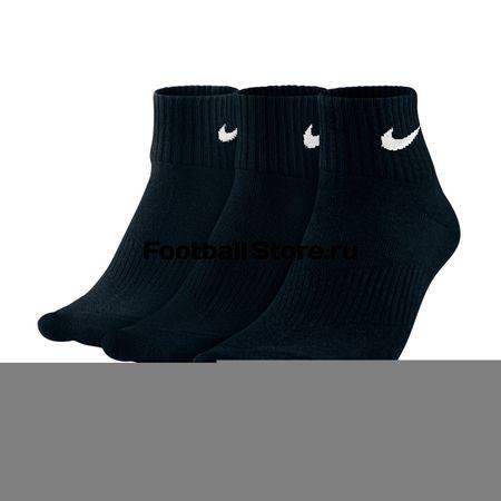 Купить Носки Nike Комплект носков Nike 3ppk Lightweight Quarter SX4706-001