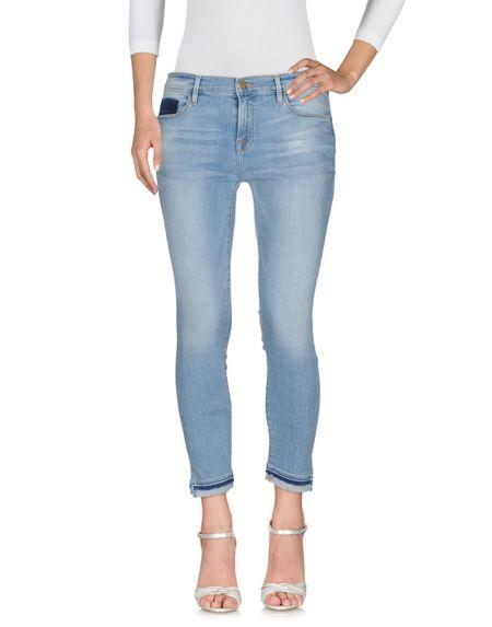 Фото FRAME Джинсовые брюки. Купить с доставкой