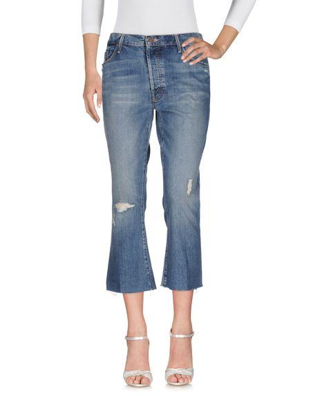 Фото MOTHER Джинсовые брюки. Купить с доставкой
