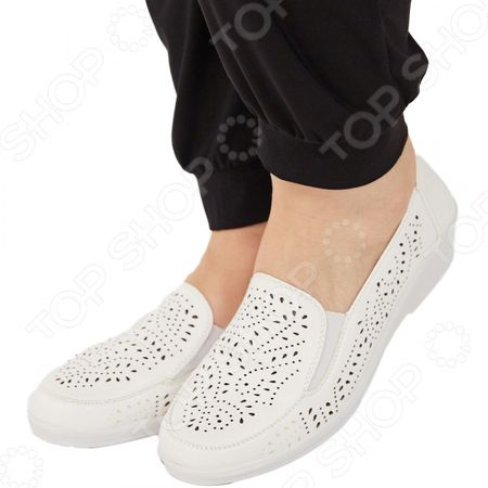 Туфли АЛМИ «Гренада». Цвет: белый «Гренада». Цвет: белый
