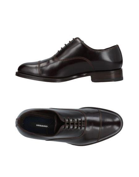 Фото DSQUARED2 Обувь на шнурках. Купить с доставкой