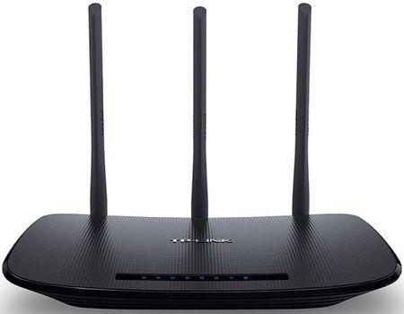 Фото Беспроводной маршрутизатор TP-LINK TL-WR940N 802.11bgn 450Mbps 2.4 ГГц 4xLAN черный. Купить в РФ
