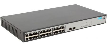 Фото Коммутатор HP 1420-24G-2S управляемый 24 порта 10/100/1000Mbps 2xSFP JH018A. Купить в РФ