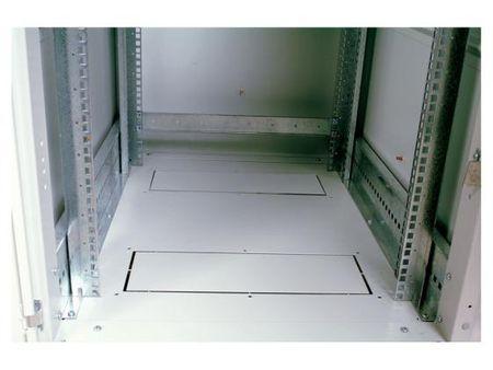 Фото Шкаф напольный 33U ЦМО ШТК-М-33.6.8-1ААА 600x800mm дверь стекло серый 3 коробки. Купить в РФ
