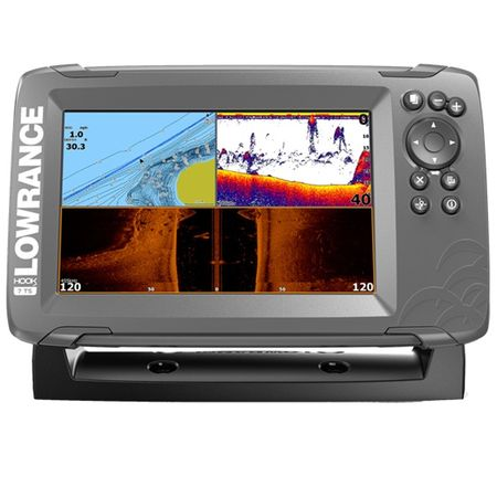 Lowrance HOOK2-7 with TripleShot US Coastal/ROW фото 0
