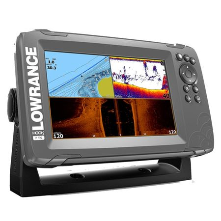 Lowrance HOOK2-7 with TripleShot US Coastal/ROW фото 2